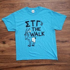 Sigma Tau Gamma T-Shirt  size Large
